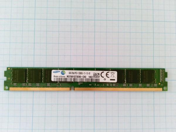SAMSUNG Original DDR3 DIMM 8Gb 1600MHz (Компьютер)