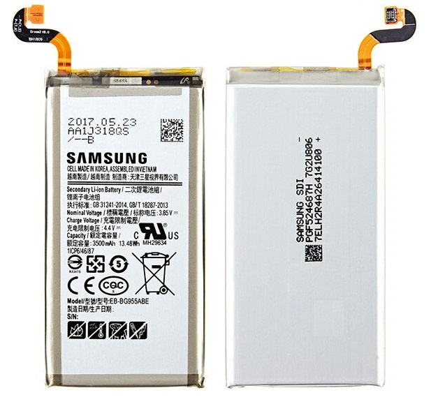 Аккумулятор EB-BG955ABA для SAMSUNG Galaxy S8 Plus + G9550, G955, G955F/A, G955T, G955S, G955P   3500mAh