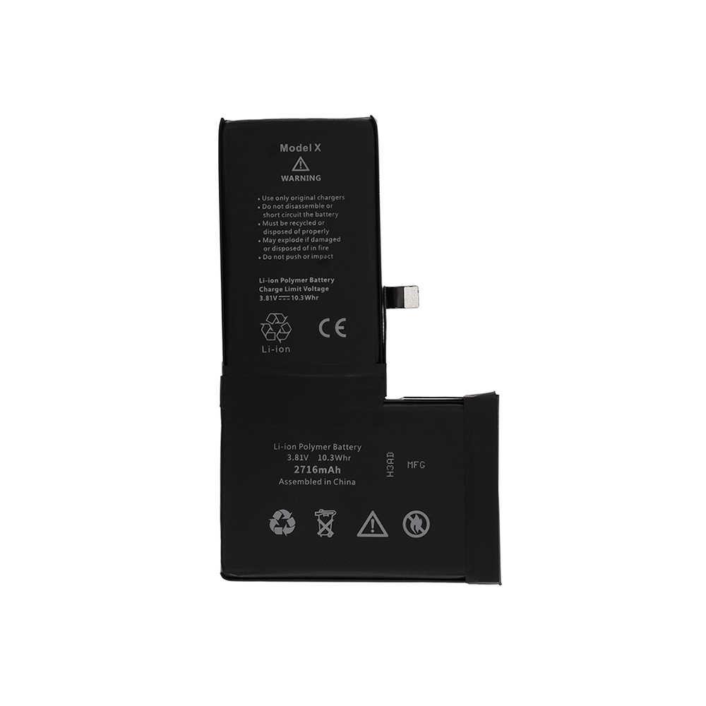 Аккумулятор iPhone X Li-ion Polymer 2716mAh