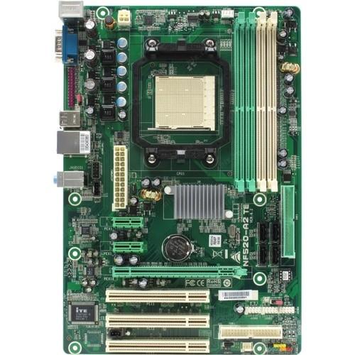 Мат. плата BioStar NF520-A2 TE (RTL) SocketAM2 <nForce 520>PCI-E+LAN SATA RAID ATX 4DDR2