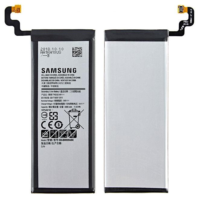 Аккумулятор EB-BN920ABE для Samsung Note 5, N9200, N920T, N920C, N920P   3000mAh