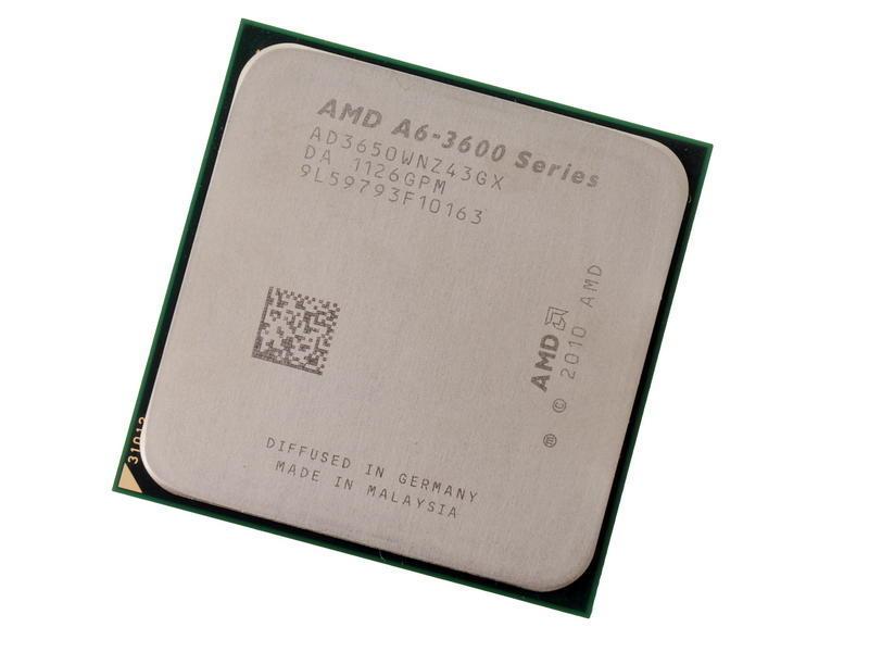 AMD A6-Series A6-3600 A6 3600 2,1 ГГц x4 разъем FM1