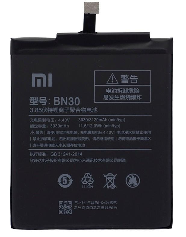 Аккумулятор для Xiaomi BN30 Redmi 4A