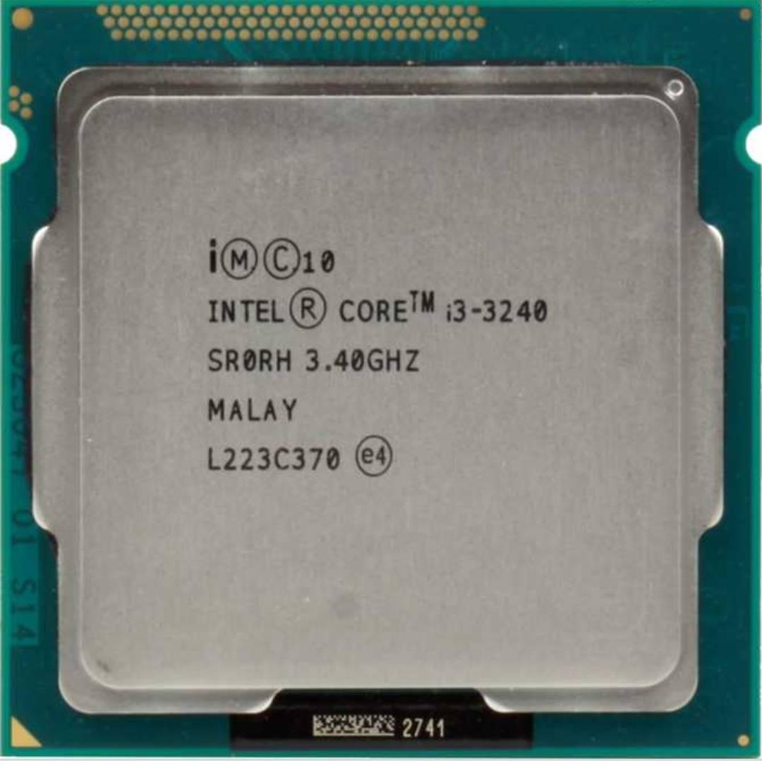 Процессор CPU Intel Core i3-3240 3.4 GHz/2core/SVGA HD Graphics 2500/0.5+3Mb/55W/5 GT/s LGA1155