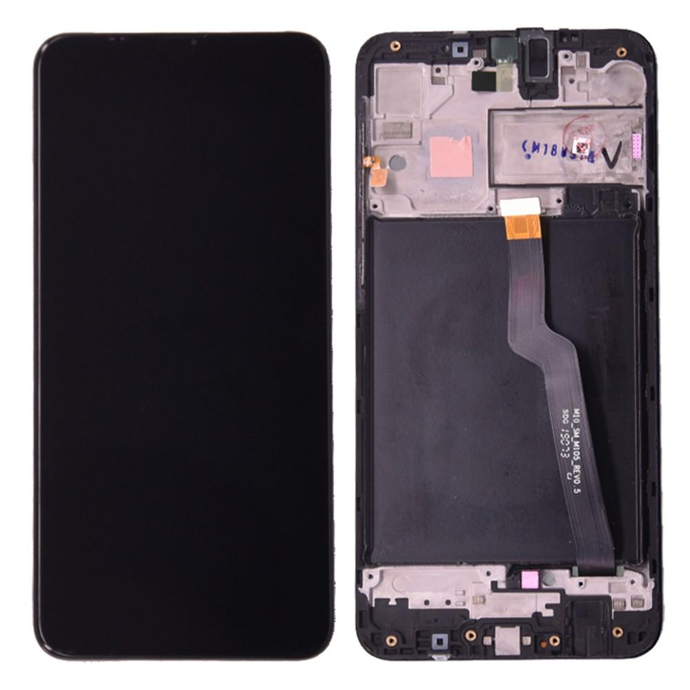 Дисплей для SAMSUNG Galaxy A10 SM-A105F/DS A105FN в сборе с сенсорной панелью + рама (In-Cell)