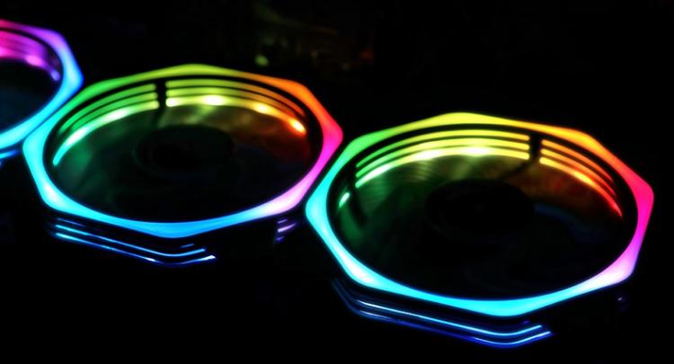 Кулера охлаждения RGB