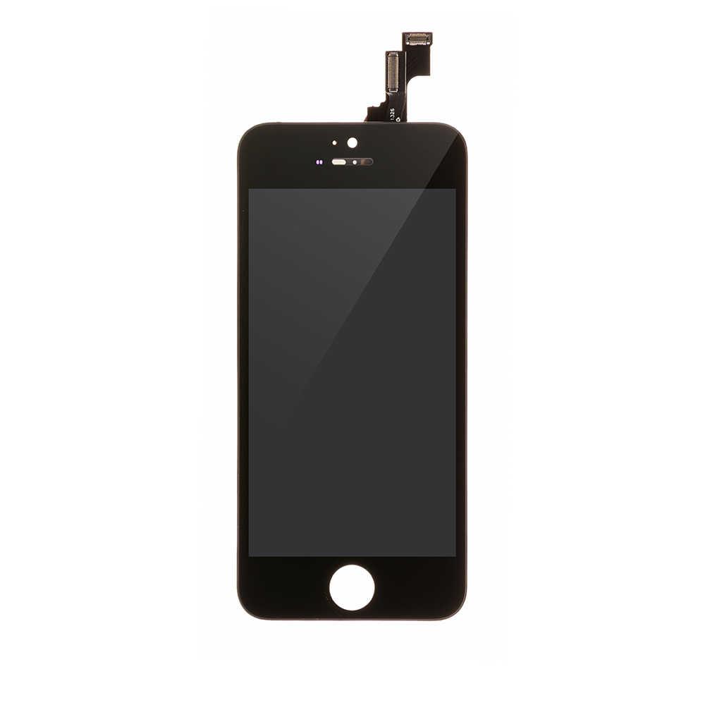 Дисплей Iphone 5S черный orig (DNF)